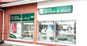 Kangasniemi, Puulan Optiikka  ja Kello