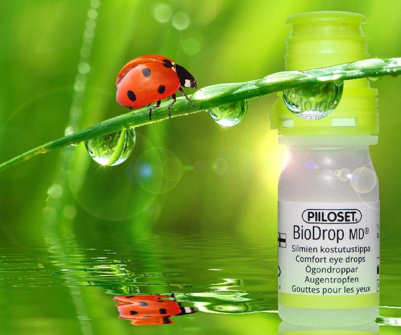 BioDrop MD on on CE-merkitty lääkinnällinen tuote