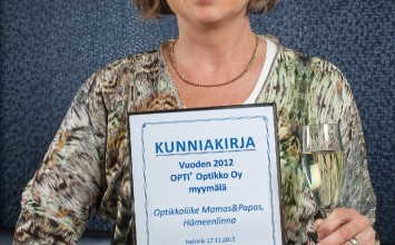 Optisen alan palveluja, tyyliä, taitoa ja tunnetta Hämeenlinnassa