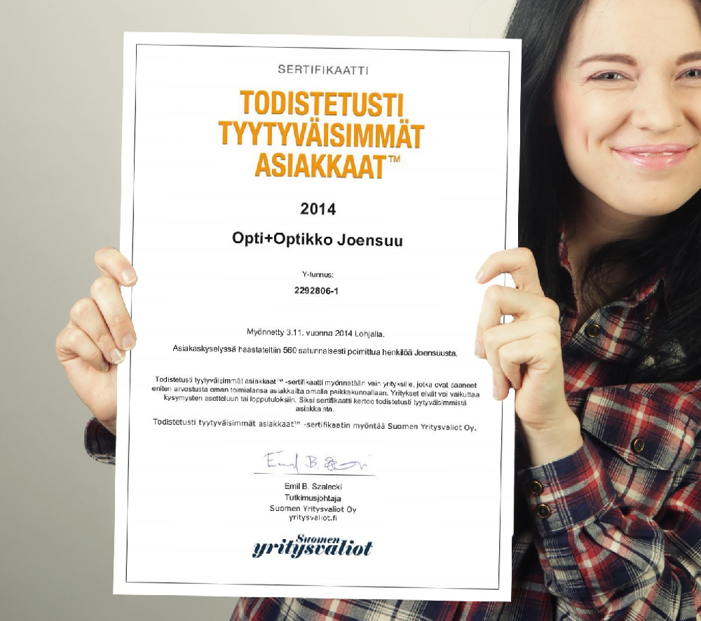 yritysvalio OPTI+optikko Joensuu