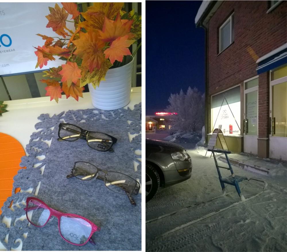 Kittilan Optiikka syksy ja talvi